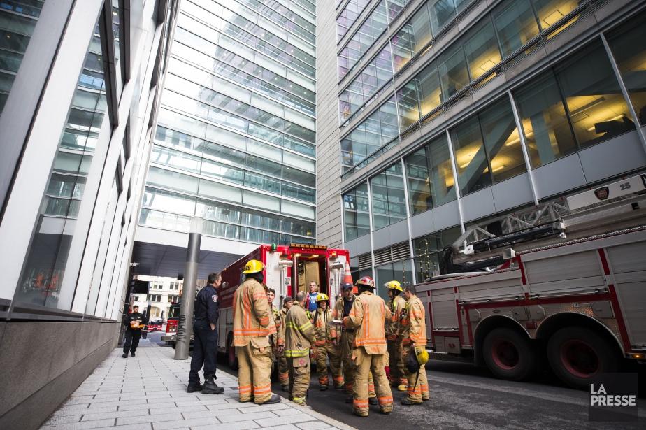 Le déversement aurait eu lieu près d'un édifice... (PHOTO OLIVIER PONTBRIAND, LA PRESSE)