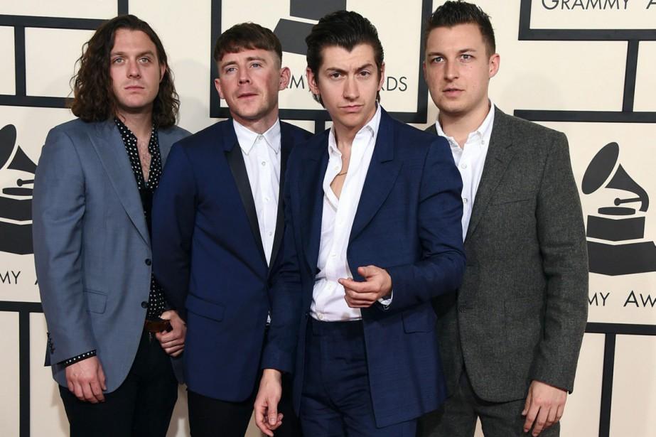 Nick O'Malley, Jamie Cook, Alex Turner et Matt... (Photo archives AP)