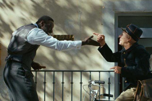 Omar Sy et Christian Hecq dans Knock.... (Photo fournie par TVA Films)