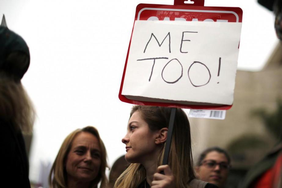 Si le mouvement #metoo a créé une division,... (Photo Lucy Nicholson, archives Reuters)