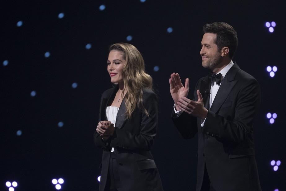 Les animateurs Maripier Morin et Jean-Philippe Dion | 13 mai 2018