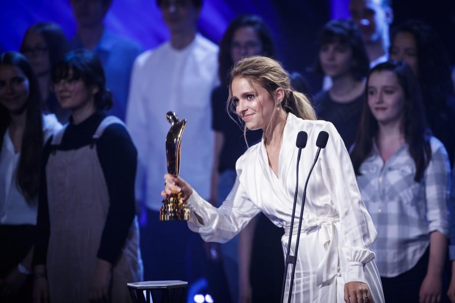 Artiste d'émissions jeunesse: Sarah-Jeanne Labrosse( Le Chalet ) | 13 mai 2018