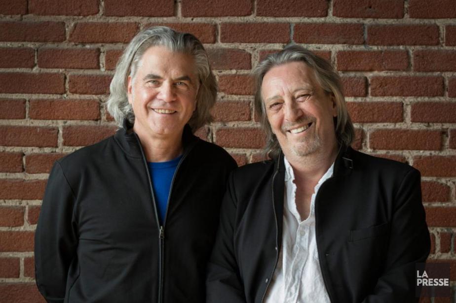 Richard Séguin et Serge Fiori... (photoIVANOH DEMERS, LA PRESSE)
