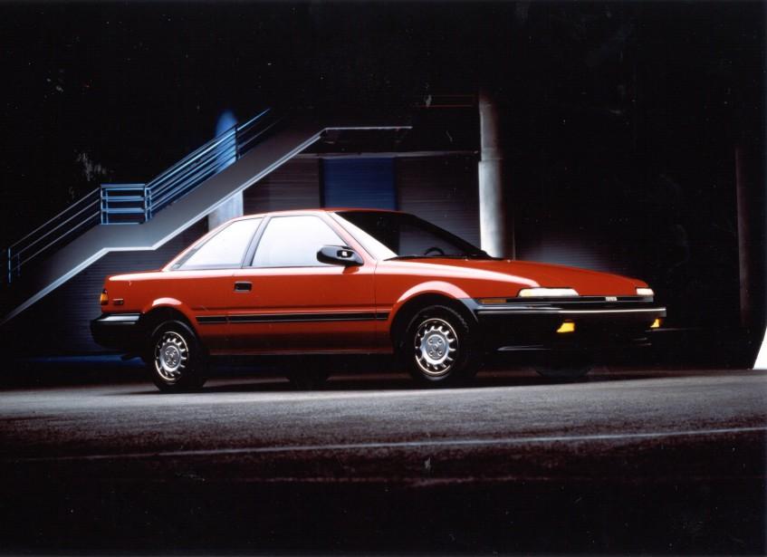 <strong>Sa première voiture -</strong> La Corolla 1989 que sa mère devait lui vendre, mais qu'elle a fini par lui donner.<br /><br /> ()