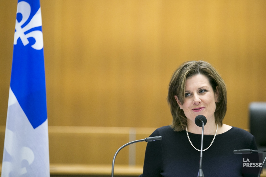 StéphanieVallée... (Photo François Roy, archives La Presse)
