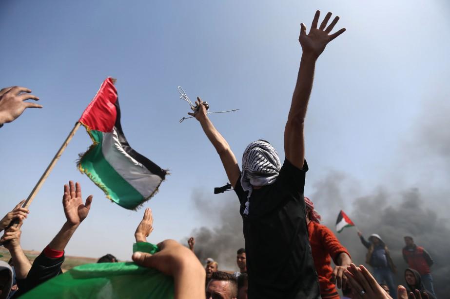 L'entreprise de paix entre Israël et les Palestiniens... (PHOTO AFP)