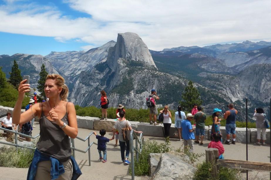 Aux États-Unis, les grands parcs Yosemite (photo) et... (Photo Frederic J. Brown, archives Agence France-Presse)