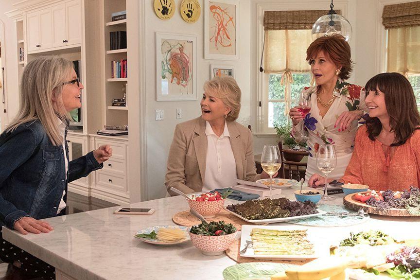 Diane Keaton, Candice Bergen, Jane Fonda et Mary... (Image fournie par Paramount)