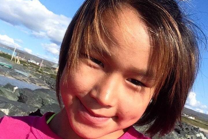 Alacie Inukpuk a été retrouvée morte gelée et... (Photo tirée de Facebook)