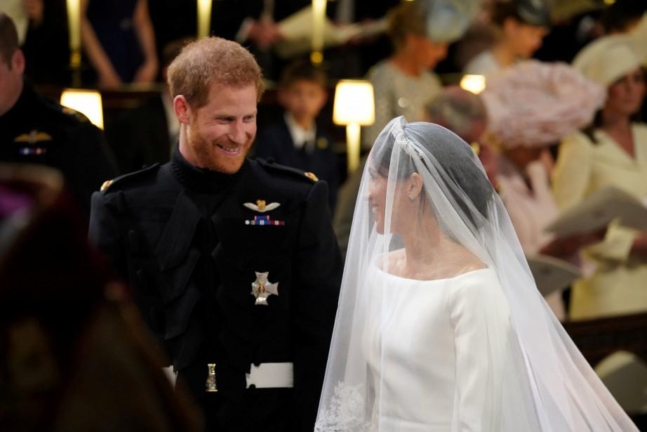Le prince Harry et Meghan Markle.... | 2018-05-19 00:00:00.000