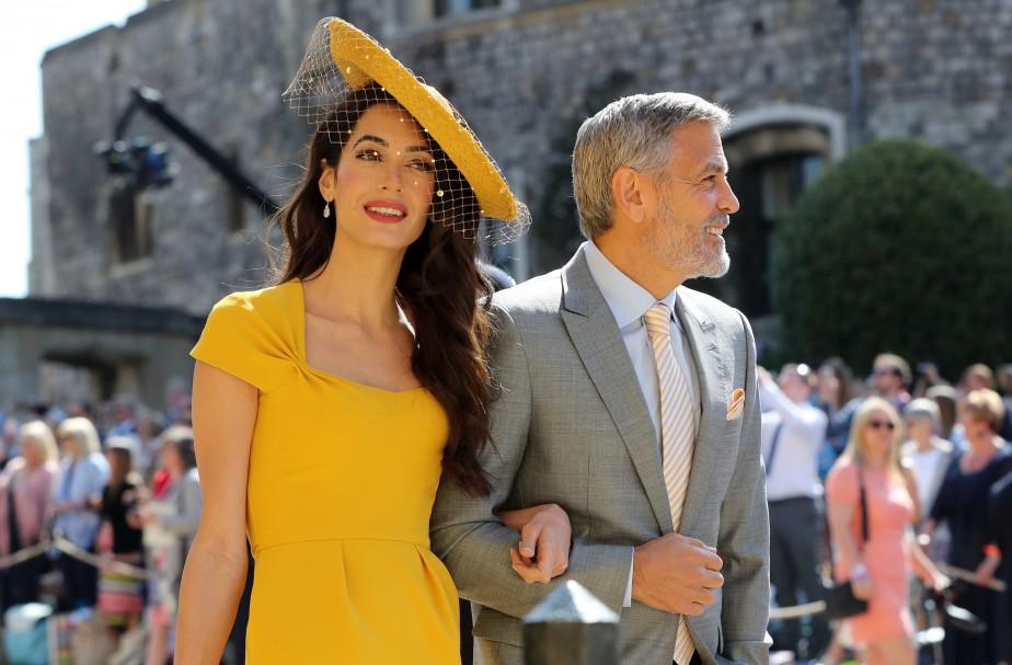 Amal Clooney et George Clooney. | 19 mai 2018