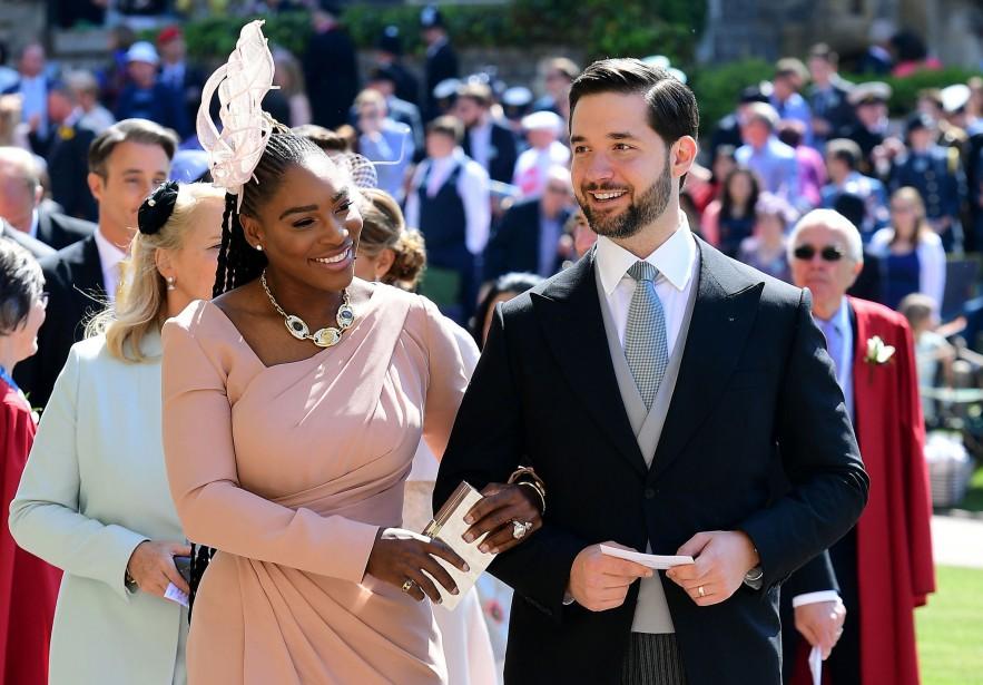 Serena Williams et son mari Alexis Ohanian. | 19 mai 2018