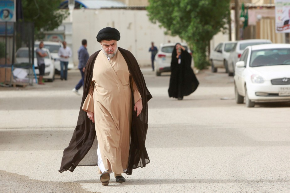 Moqtada al-Sadr... (Photo Alaa al-Marjani, archives REUTERS)