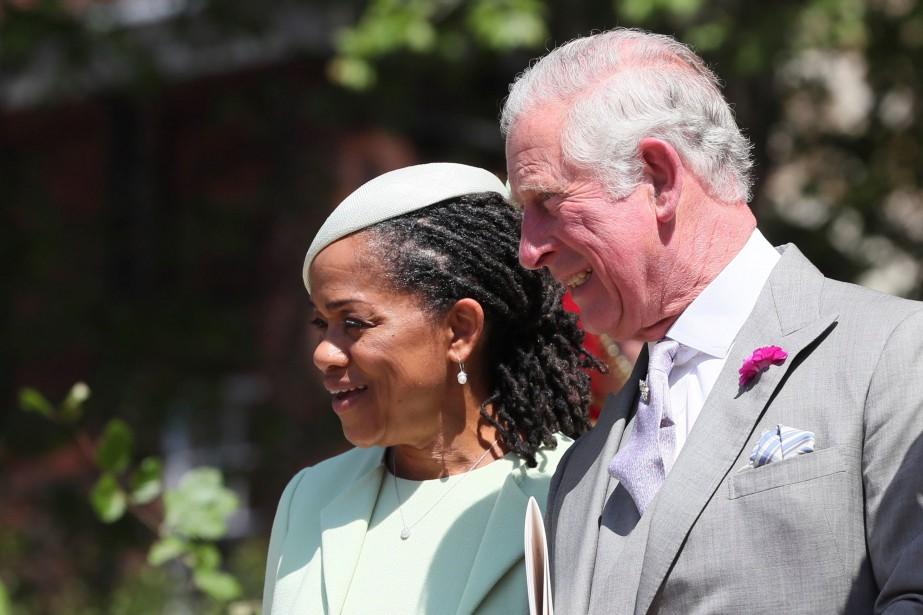La mère de Meghan Markle, Doria Ragland, et le prince Charles. | 19 mai 2018