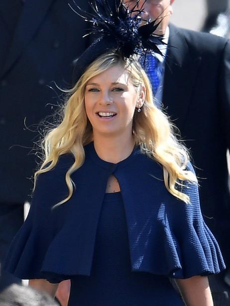 Une ex-copine du prince Harry, Chelsy Davy. | 19 mai 2018