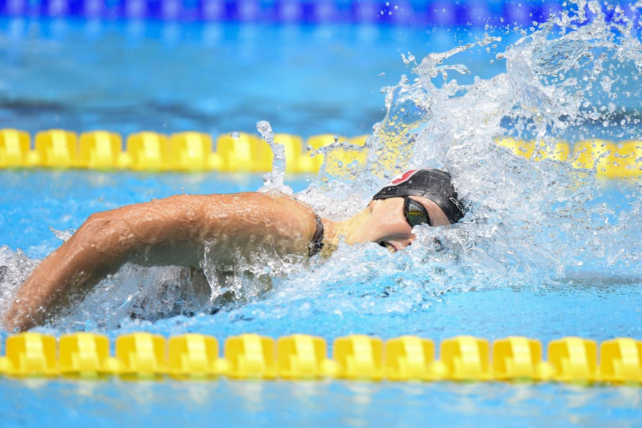 Katie Ledecky... (PHOTO ARCHIVES USA Today Sports)