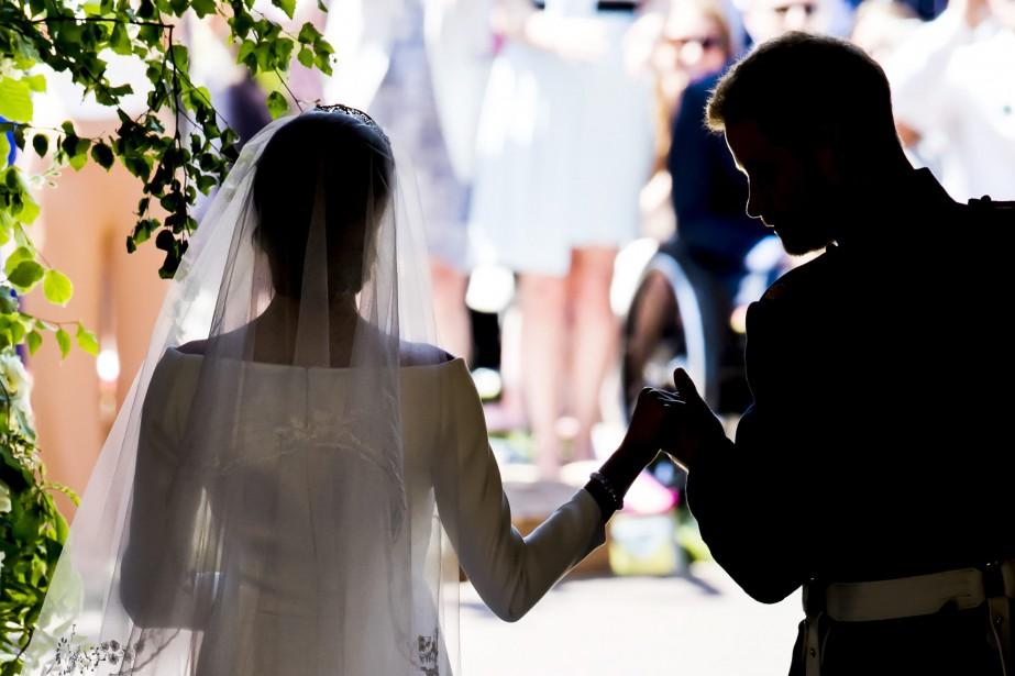 Meghan Markle et le prince Harry.... (Photo Danny Lawson, Associated Press)
