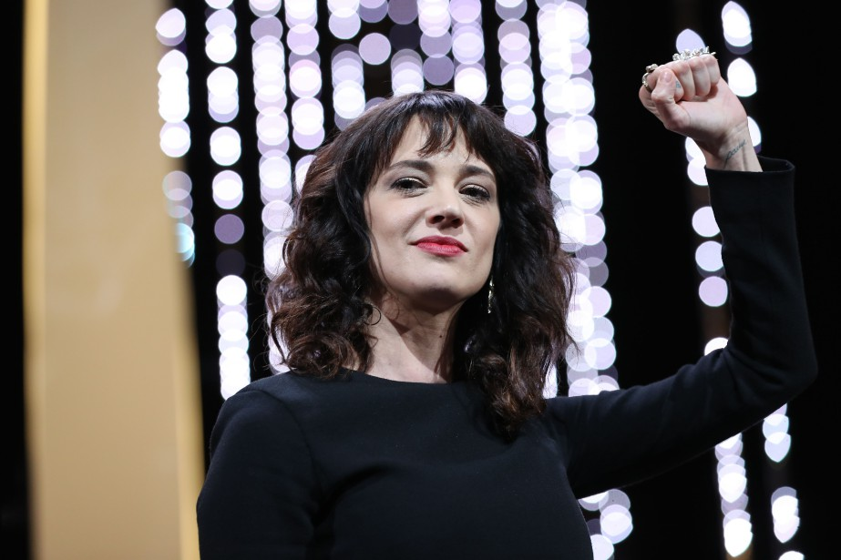 Asia Argento... (Photo Valery Hache, Agence France-Presse)