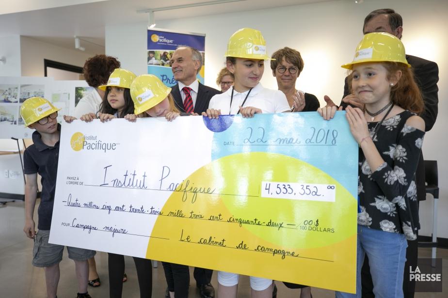 Deux millions des fonds collectés seront directement alloués... (PHOTO DAVID BOILY, LA PRESSE)