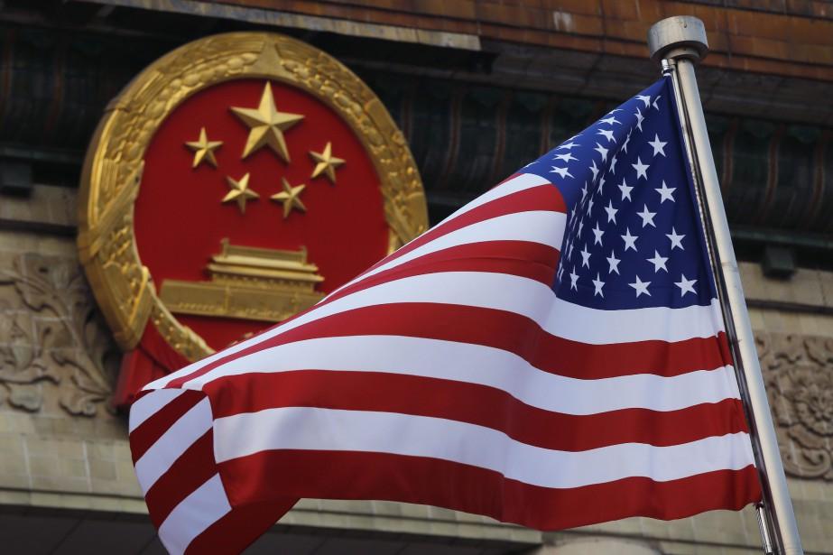 L'excédent commercial de la Chine avec les États-Unis... (Photo Andy Wong, archives Associated Press)
