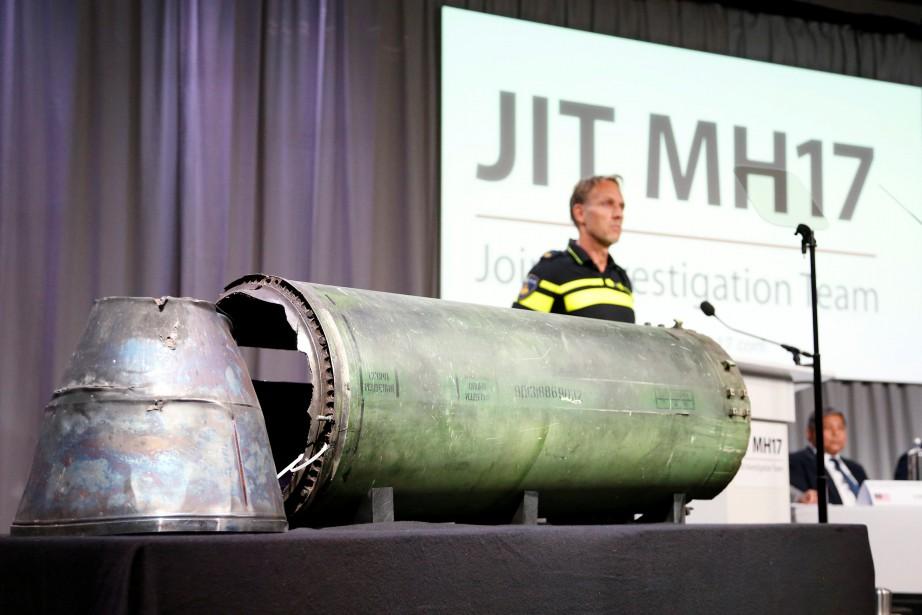 Les enquêteurs «ont conclu que le missile Bouk-Telar... (PHOTO REUTERS)