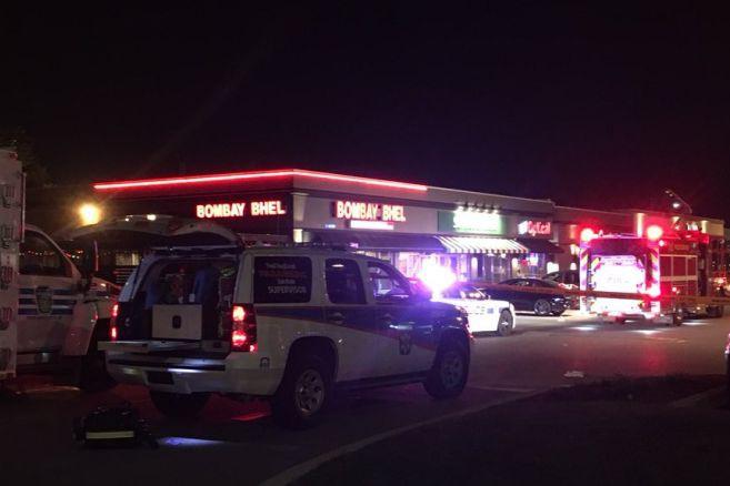 Une attaque à l`«engin explosif improvisé» dans un restaurant de