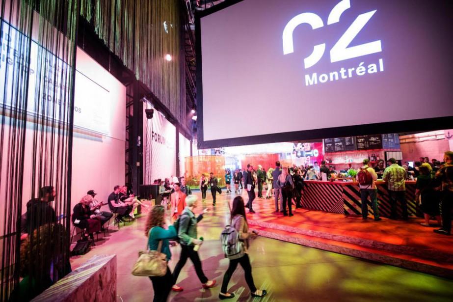 À Québec, les subventions à C2Montréal sont assurées... (Photo Marco Campanozzi, La Presse)