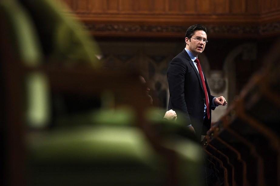 Une ambiance de tempête de neige régnait au parlement, en