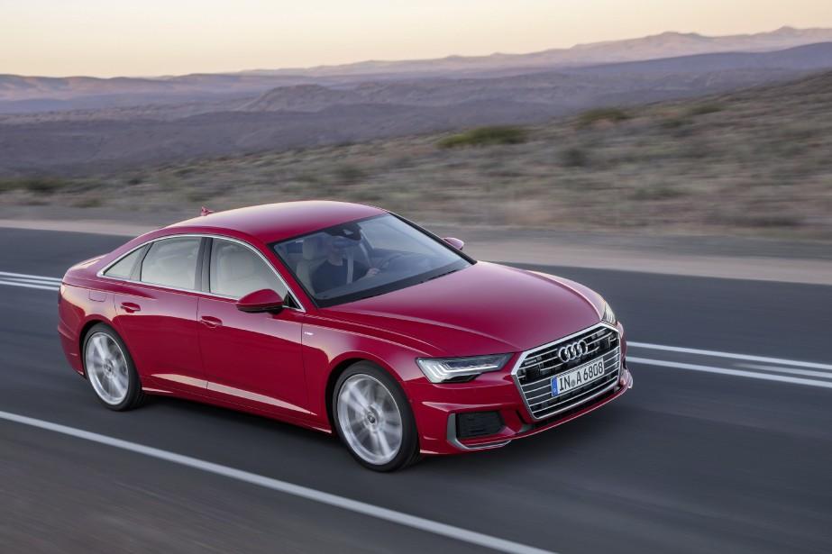 L'Audi A6 2019 affiche discrètement la réussite de son propriétaire... | 2018-05-25 00:00:00.000