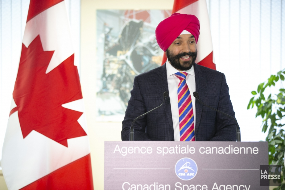 Ottawa investit 26 7 millions dans la technologie spatiale for Navdeep s bains