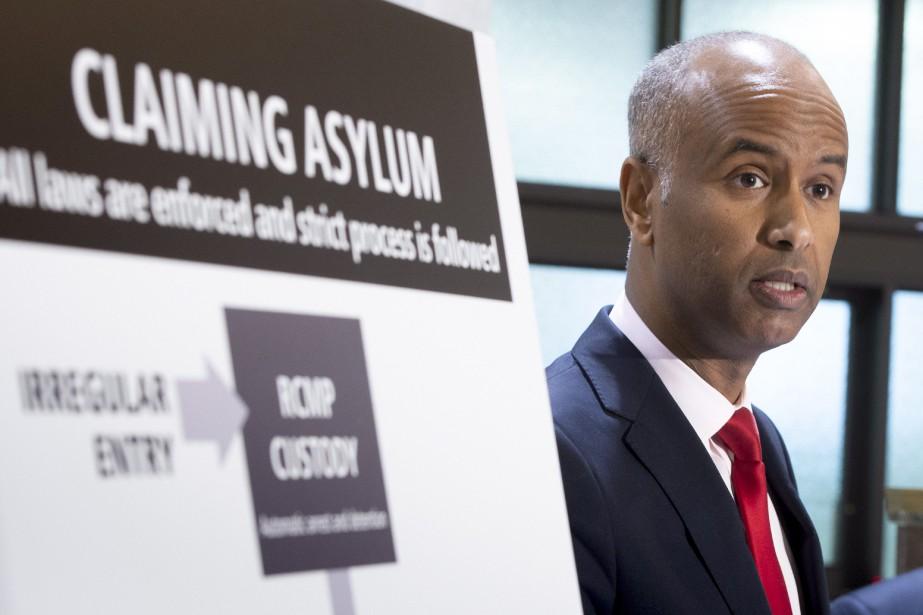 Le ministre canadien de l`Immigration Ahmed Hussen a assuré cet