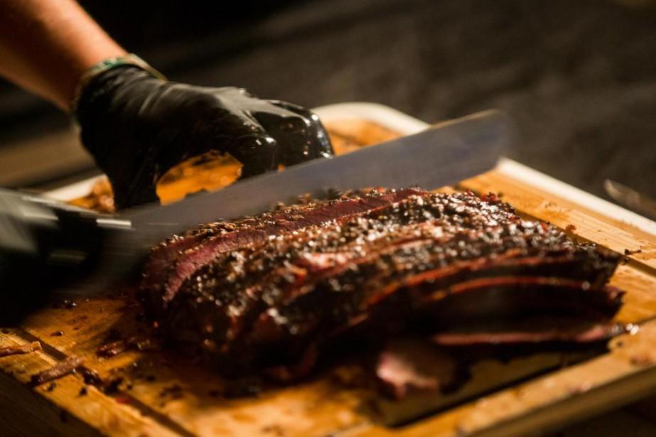 Bonne pièce de viande etbarbecue font bon ménage,... (Photo Hugo-Sébastien Aubert, La Presse)