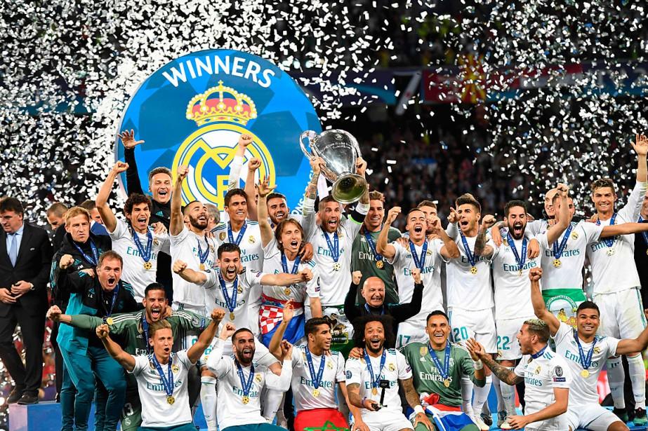 Le Real Madrid et son capitaine Sergio Ramos... (PHOTO PAUL ELLIS, AGENCE FRANCE-PRESSE)