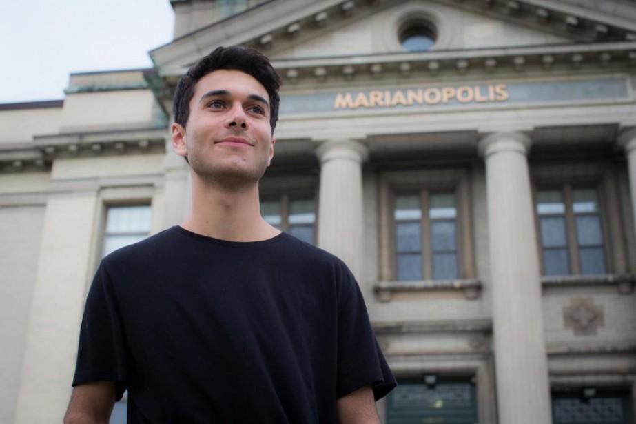 Gabriel Dayan a 19ans, mais notre personnalité de... (Photo Olivier PontBriand, La Presse)