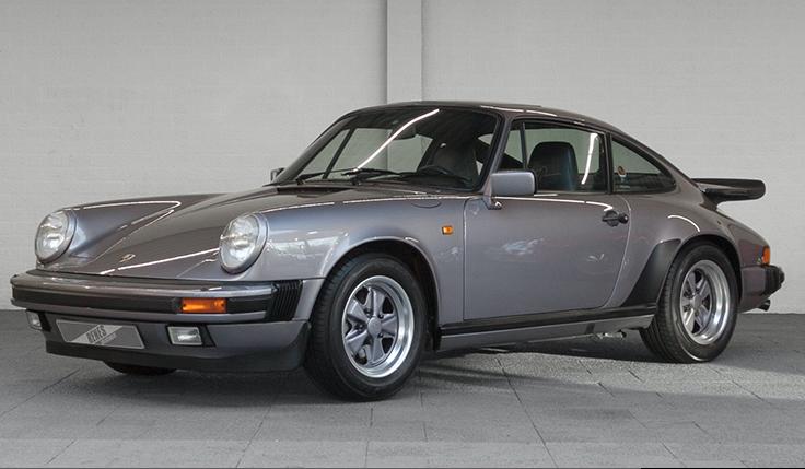 La voiture de ses rêves - La Porsche 911 1988 qu'il vient d'acheter. | 28 mai 2018