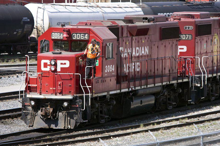 Le transporteur ferroviaire calcule maintenant que son bénéfice... (Photo archives La Presse Canadienne)