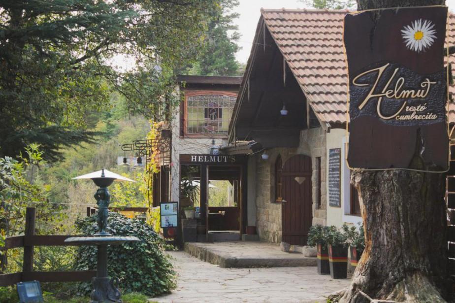 Le resto-bar Helmut à La Cumbrecita curieux village... (photo Émilie Nault-Simard, collaboration spéciale)