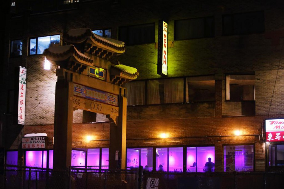Le restaurant Mon Nan, un lieu régulier de... (PHOTO MARTINCHAMBERLAND, ARCHIVES LA PRESSE)