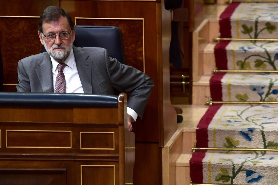 Le premier ministre espagnol Mariano Rajoy... (AFP)