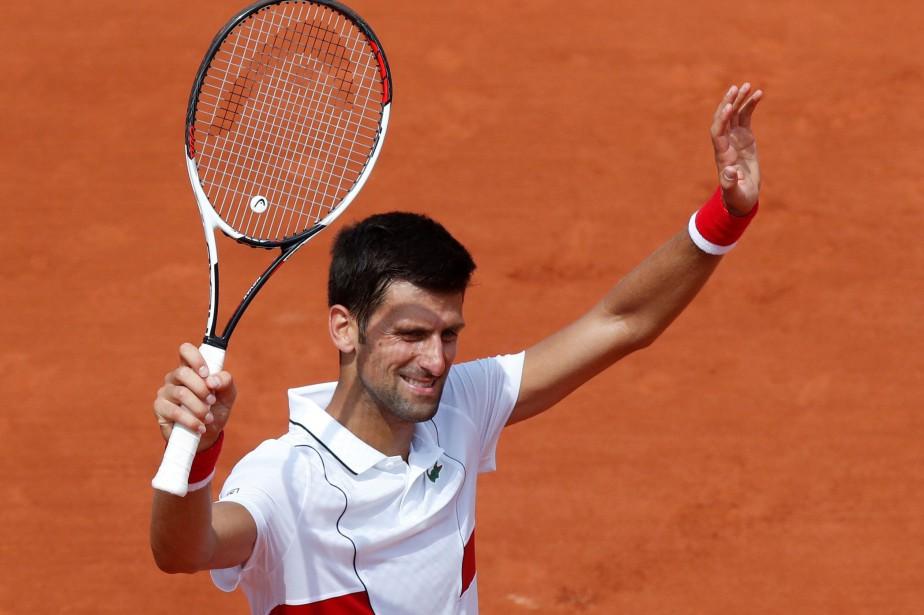 Novak Djokovic... (Photo Christian Hartmann, Reuters)