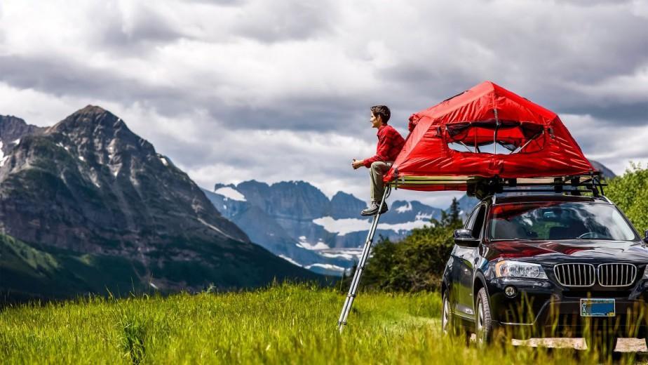 Pour ceux qui ne veulent pas camper au ras du sol, il y a la tente Skyrise de Yakima. | 30 mai 2018