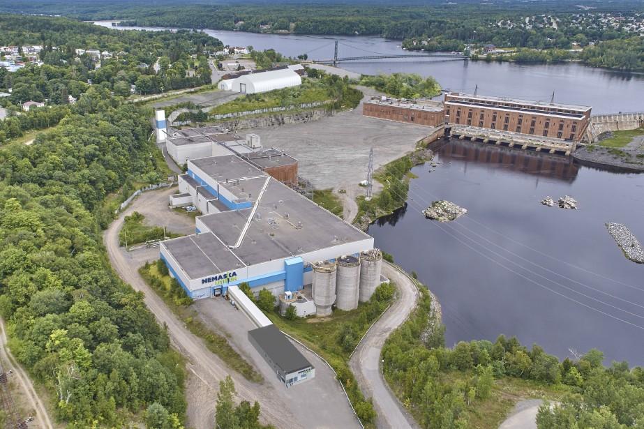 L'usine de Nemaska Lithium à Shawinigan.... (Photo fournie par Nemaska Lithium)