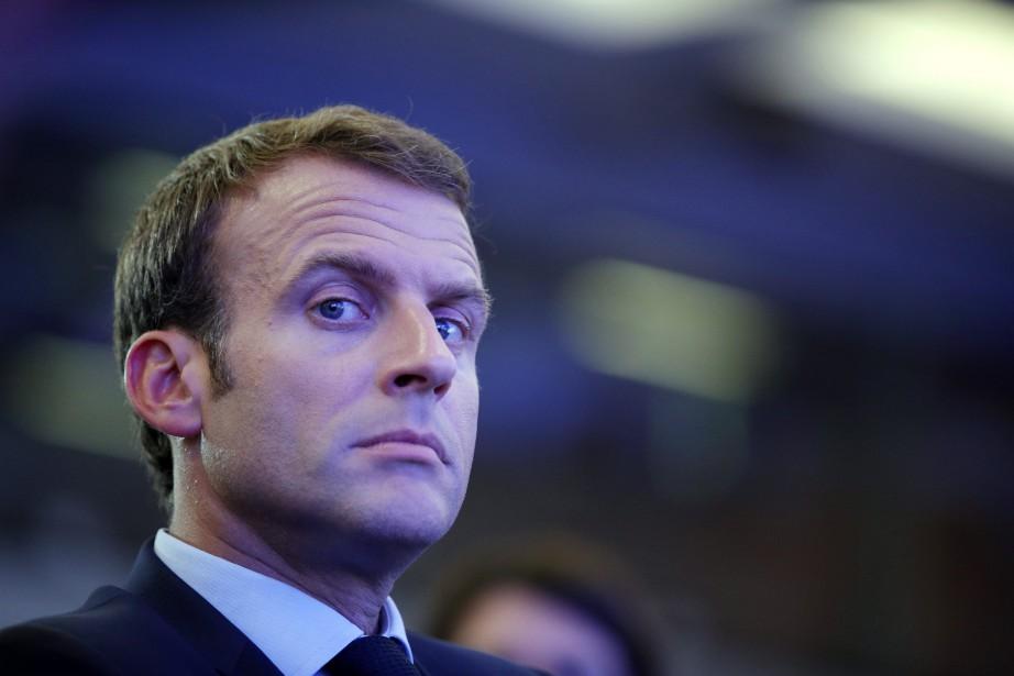 Emmanuel Macron (photo) aura plutôt un entretien privé... (Photo Philippe Wojazer, Reuters)