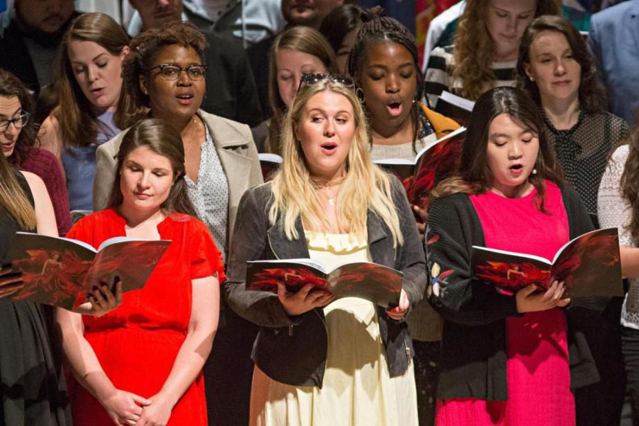 La présentation des candidats du Concoursmusical international de... (Photo Patrick Sanfaçon, La Presse)