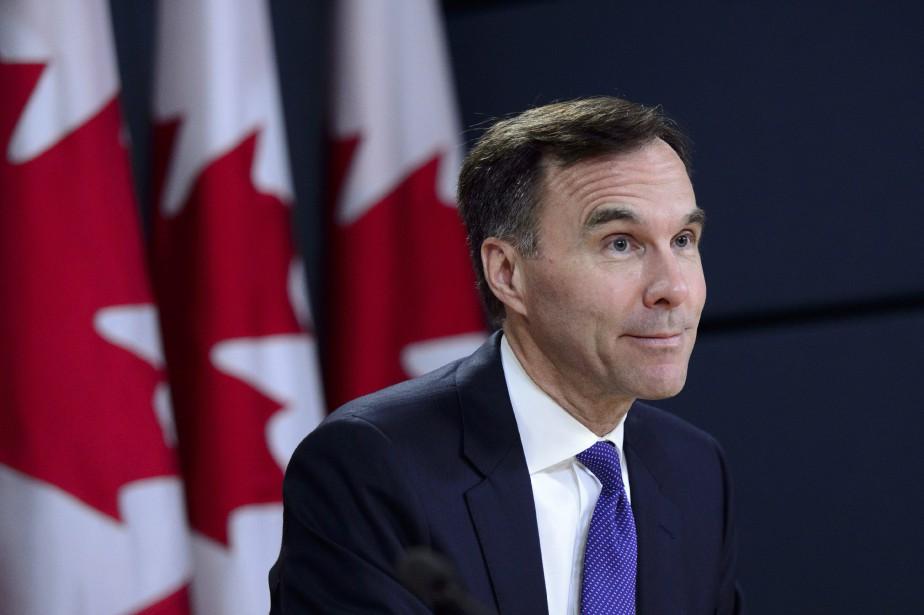 Le ministre canadien des Finances, BillMorneau.... (Photo Sean Kilpatrick, archives La Presse Canadienne)