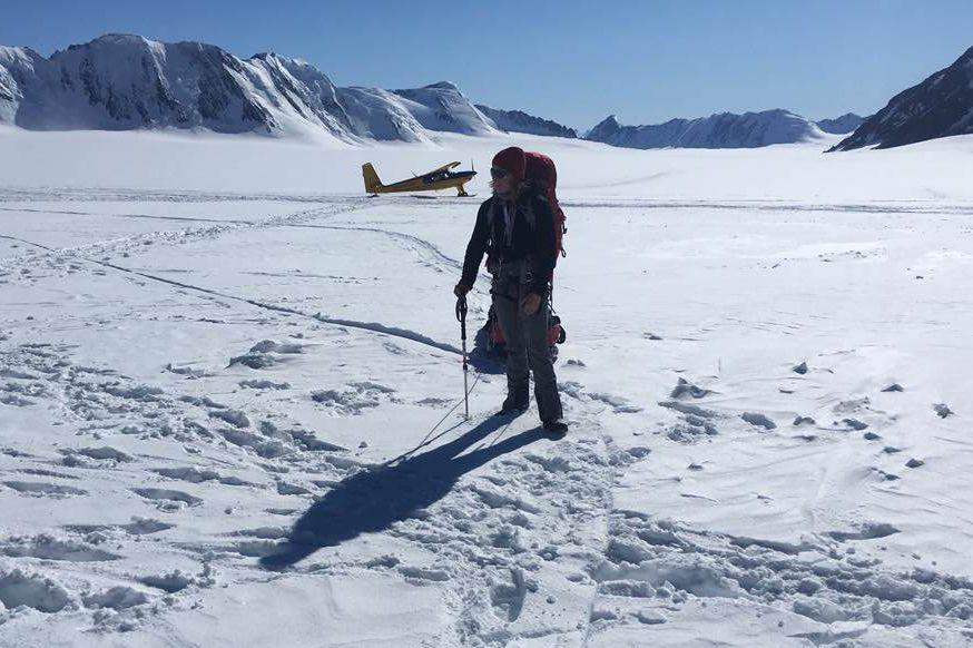 Monique Richard aamorcé son ascension du mont Logan... (PHOTO TIRÉE DE FACEBOOK)