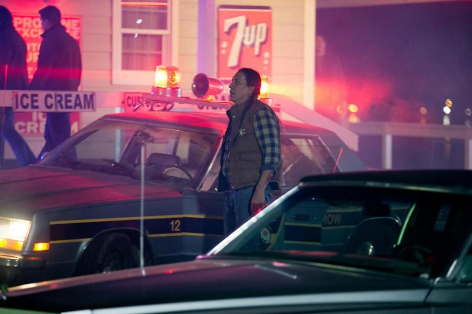 Letournage de Blood Quantum du réalisateur Jeff Barnaby... (Photo François Roy, La Presse)