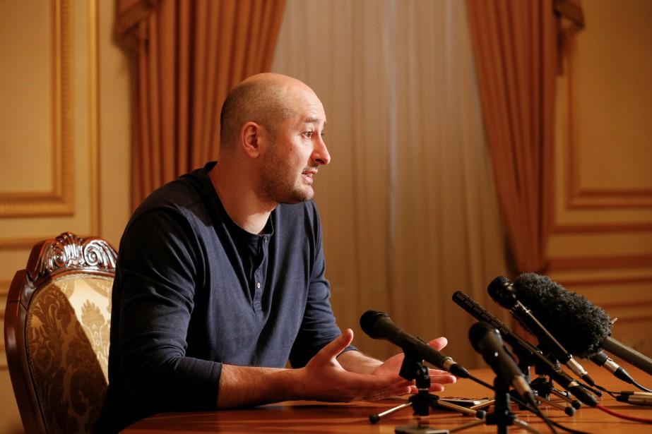 Arkadi Babtchenko s'est adressé à des médias étrangers... (PHOTO REUTERS)