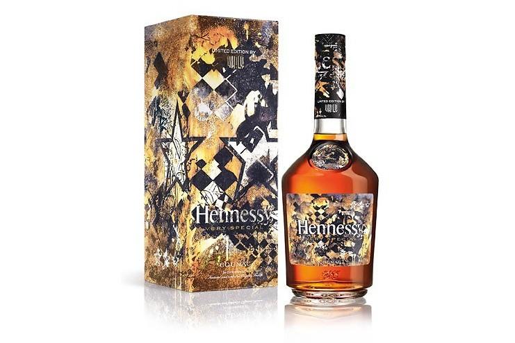 L'édition Hennessy VS par Vhils... (Capture d'écran)