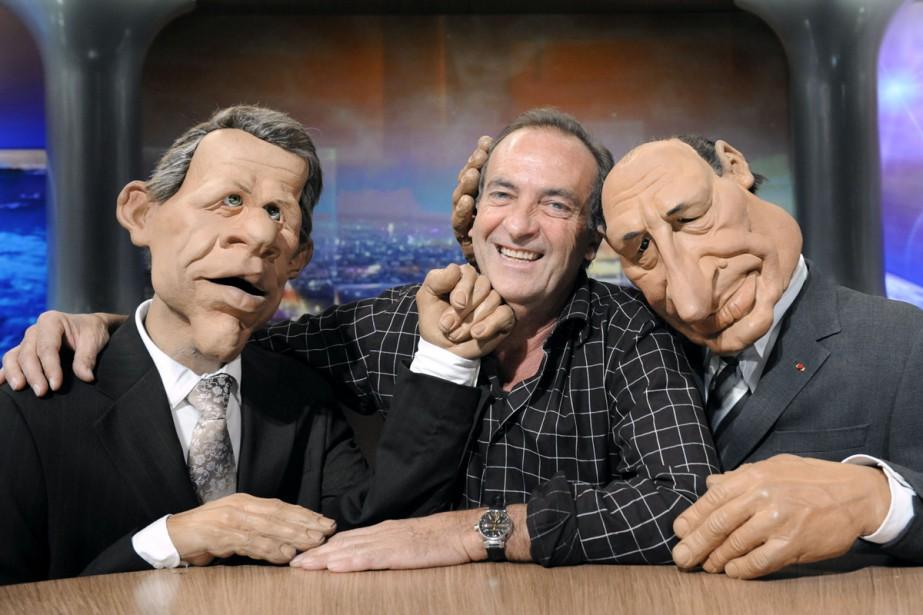 Les Guignols, l'une des émissions phare de la... (Photo archives AFP)